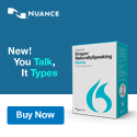 Dragon NaturallySpeaking 10 Standard by Nuance