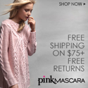 Free shipping with Pinkmascara.com