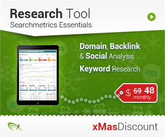 Searchmetrics Christmas campaign 2014 30% off