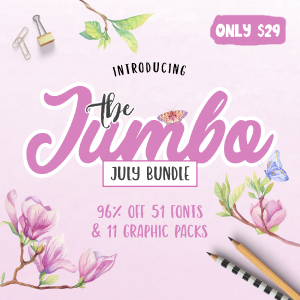 SALE!! 96% OFF The Jumbo July Bundle