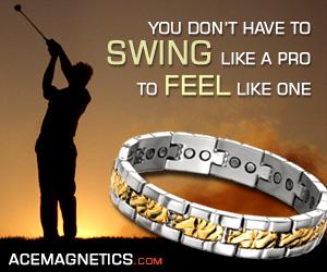Get the magenetic bracelet GOLF pros love