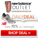 Check out the Daily Deal at Joe's New Balance Outlet and get up to 70% off New Balance Shoes and Apparel.