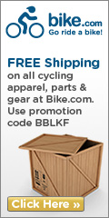 Free shipping at Bike.com