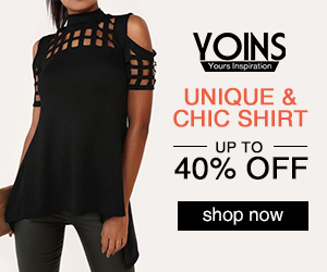 up to 40% off for Unique&Chic shirt
