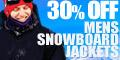 30% Off Men's Snowboard Jackets at USOUTDOOR.com