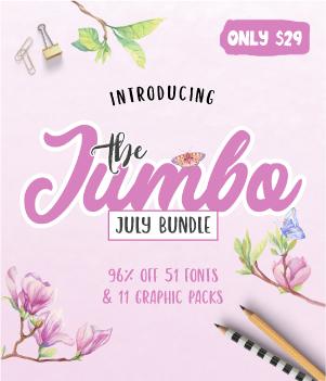The Jumbo July Bundle , 300 X 350