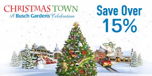 Christmas Town at Busch Gardens - Save Over 15% on Admission!