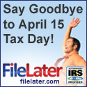 FileLater Online Income Tax Extensions