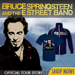 Official Bruce Springsteen Merchandise