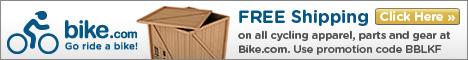 Free shipping at Bike.com