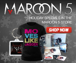 Maroon 5 Holiday Banner 300x250