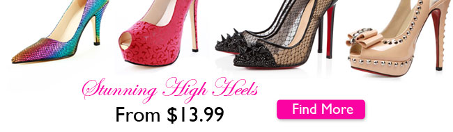 New Heels From $13.99