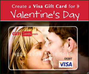 Create your own Valentine's Day Gift Card!
