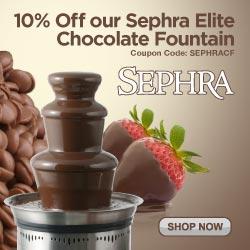 """Sephra 19"""" Elite Home Fondue Fountain"""