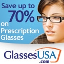 Save up to 70% off on prescription glasses