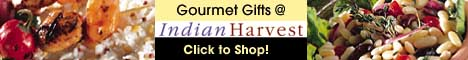 Gourmet Gifts @ Indian Harvest! Click to Shop!