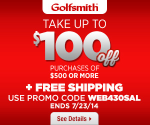 Golfsmith Summer Sale Up to $100 Off