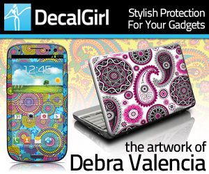 Debra Valencia Art at DecalGirl.com