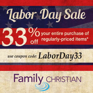 33% off entire purchase of regularly-priced items with coupon code LaborDay33