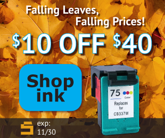Save on ink at CompAndSave.com