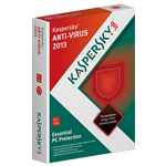 Kaspersky Anti-Virus 2012 Box