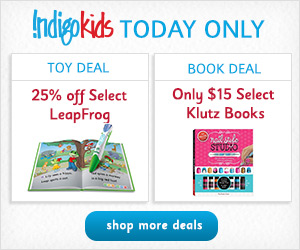 IndigoKids' One Day Deals! TODAY ONLY: 20% off Select LEGO + Only $20 LEGO Minifigures Year by Year