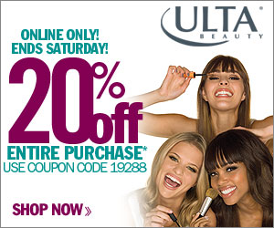Take 20% off your entire ONLINE purchase with coup