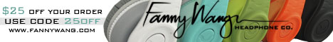 Fanny Wang Headphones - $25 off your order