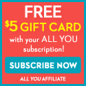 All You + Free Target/Amazon Gift Card_125x125