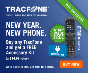 TracFone pay-as-you-go prepaid wireless phone service. CLICK HERE!