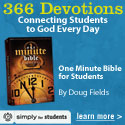 One-Minute Bible for Students - only $9.99