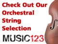 String Band and Orchestra Instruments at Music123