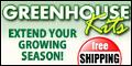 Green House kits - Free Shipping