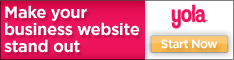 Make your business website stand out with Yola