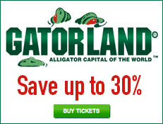 Gatorland - Save Over 20% on Tickets!