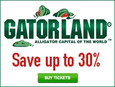 Gatorland - Save Over 20% on Tickets!