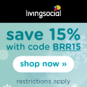 15% Off Living Social Sitewide This Weekend!