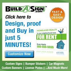 Custom Signs, Real Estate, Magnetic, Yard Signs