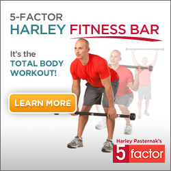Get into shape with the 5-Factor exercise bar