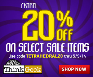 Get extra 20% Off Select Items