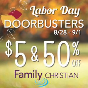 $5 & 50% Deals this Labor Day Weekend, Thursday August 28 through Monday September 1