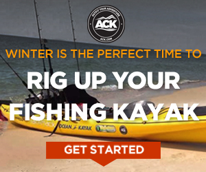 Shop kayak fishing gear at ACK!