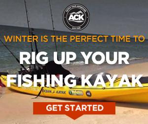 Shop kayak fishing gear at ACK!