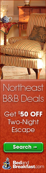 Save $50 at BedandBreakfast.com