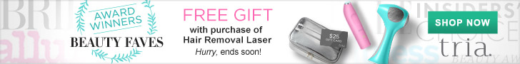 [HRL] Free Gift with Purchase of Hair Removal Laser. Ends 10.28. Code: WINNER.