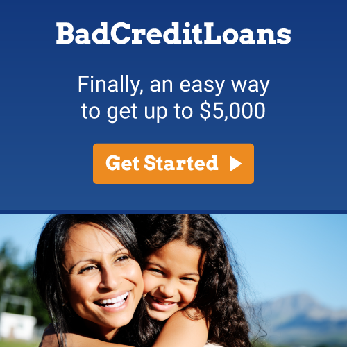 Bad Credit Loans - Apply for Free