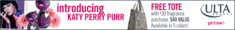 New! Katy Perry Purr + get a FREE Tote with $30 fr