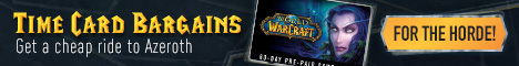 Up to 20% cheaper for World of Warcraft Prepaid Time Cards | EU, US | Cheap, Fast & Safe!