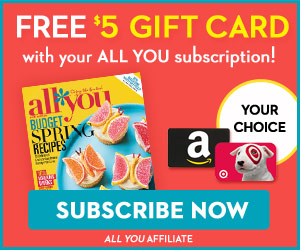 All You + Free Target/Amazon Gift Card_300x250