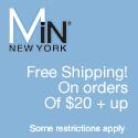 Free Shipping at MiN NEW YORK
